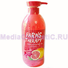 Гель для душа грейпфрут FARMS THERAPY Sparkling Body Wash Grapefruit Clean 700 мл