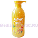 Гель для душа манго FARMS THERAPY Sparkling Body Wash Mango Rush 700 мл