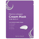 Кремовая маска с морским коллагеном для лица La Soyul Marine Collagen Cream Mask 28 г