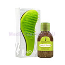 Набор расческа Macadamia No Tangle Brush Green+ Healing Oil Treatment 30 мл